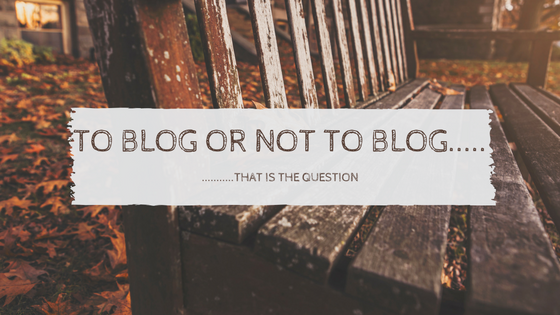 1. Graffic- To blog or not to blog copy
